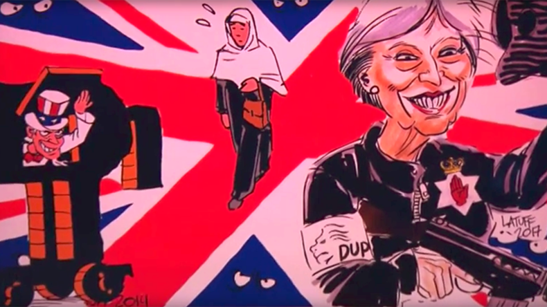 'You cannot imagine' events in Britain: Renowned radical cartoonist talks to RT's Going Underground