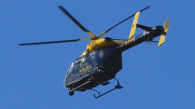 Helicopter police accused of filming couple having sex get off
