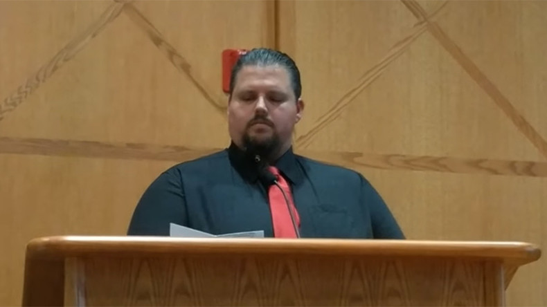 Satanist delivers historic invocation, hails Satan at Colorado council meeting (VIDEO)