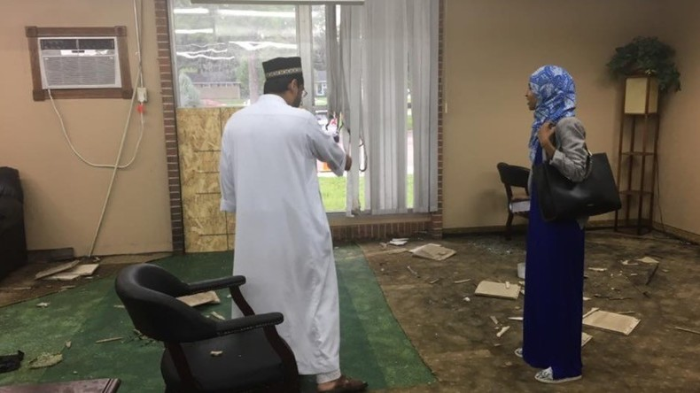 'Hate crime or act of terror?' FBI probes IED bombing attack on Minnesota mosque