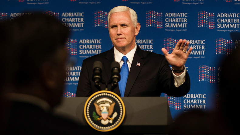 In Balkans speech, Trump's VP pledges allegiance to the swamp