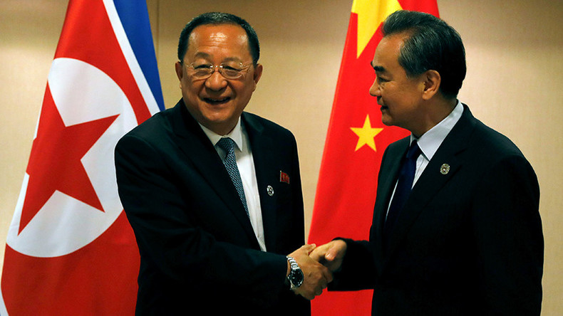 China urges N. Korea to abide by UN sanctions, stop missile tests