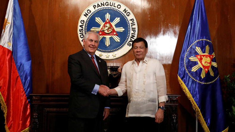 'I'm your humble friend': Duterte makes U-turn on US in comment to Tillerson