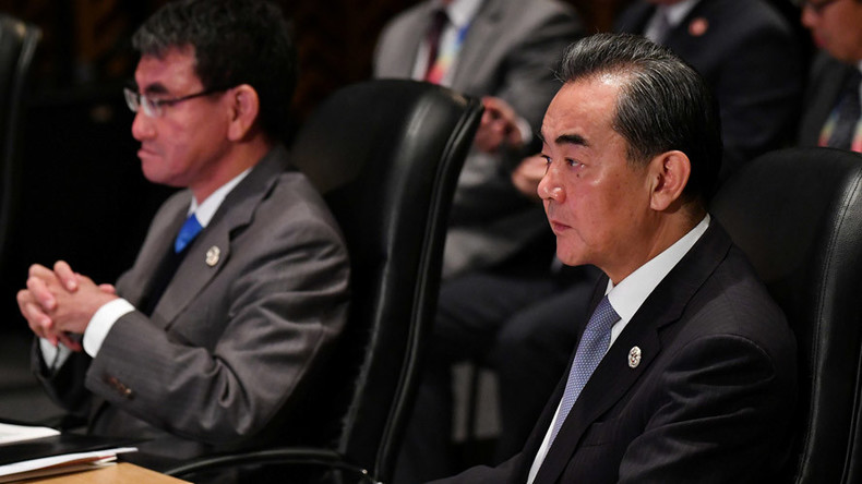 China's foreign minister says Japan kowtows to US policies in Asia