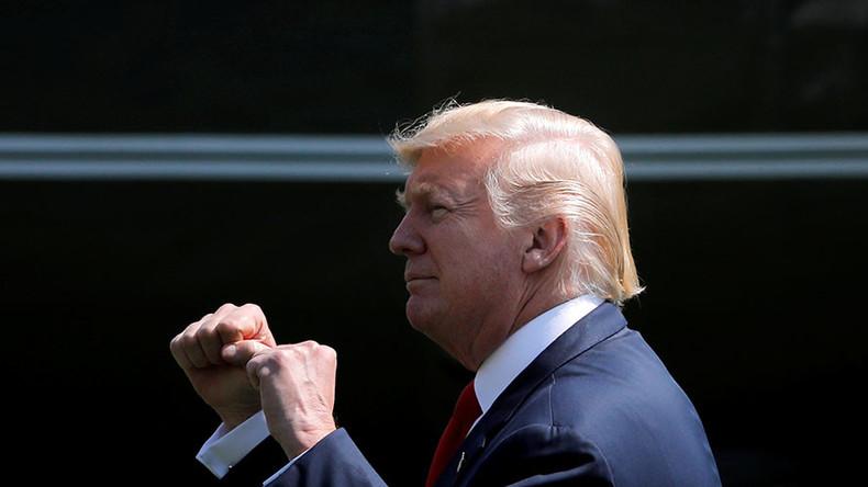 Trump warns North Korea new threats will be met with 'fire & fury'