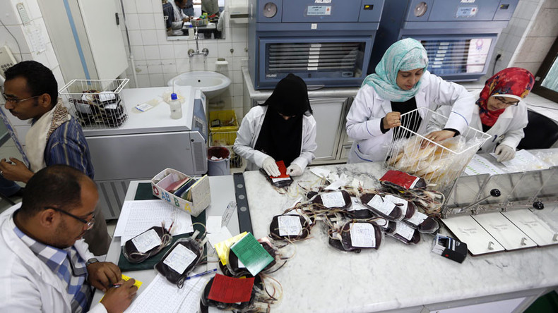Yemen's national blood bank on verge of closing after losing Western funding