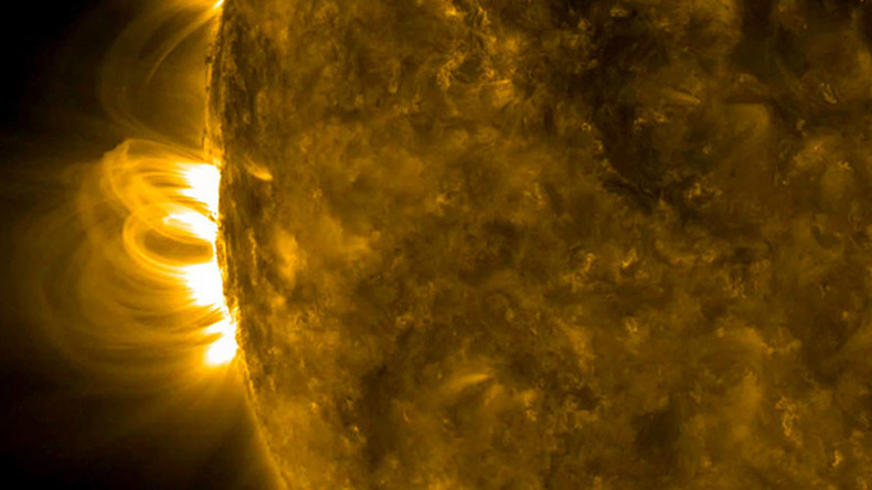 NASA captures incredible view of returning giant sunspot (VIDEO)