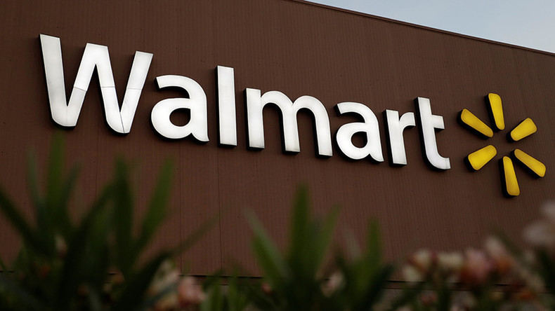 Walmart gun display sign says, 'Own the school year like a hero,' internet loses it