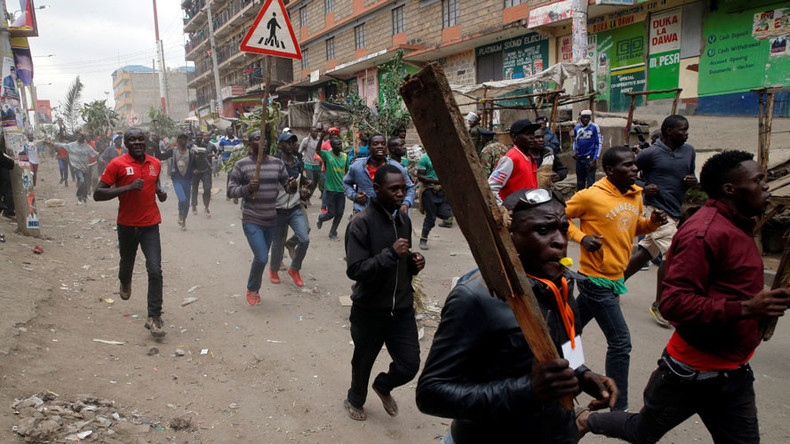 Burning tires, blocked roads: Mass election protests turn violent in Kenya (PHOTOS, VIDEOS)