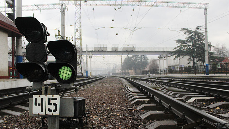 Russia completes rail link bypassing Ukraine