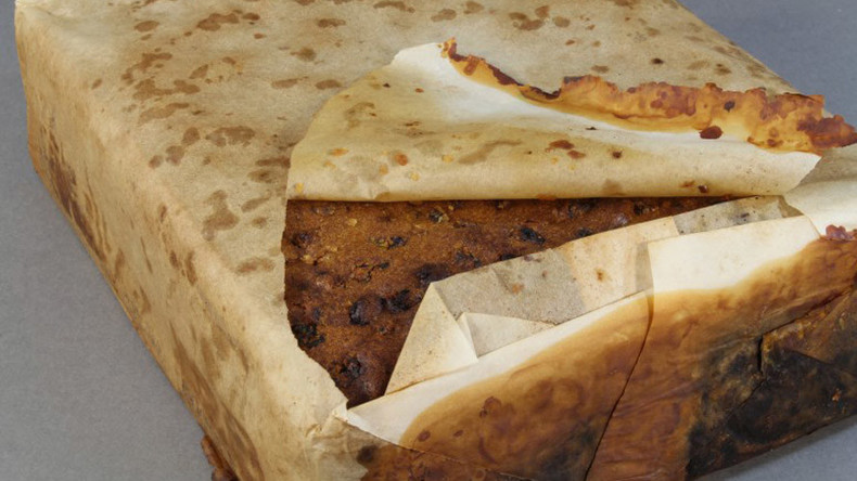 106yo Antarctic fruitcake found in 'excellent condition'