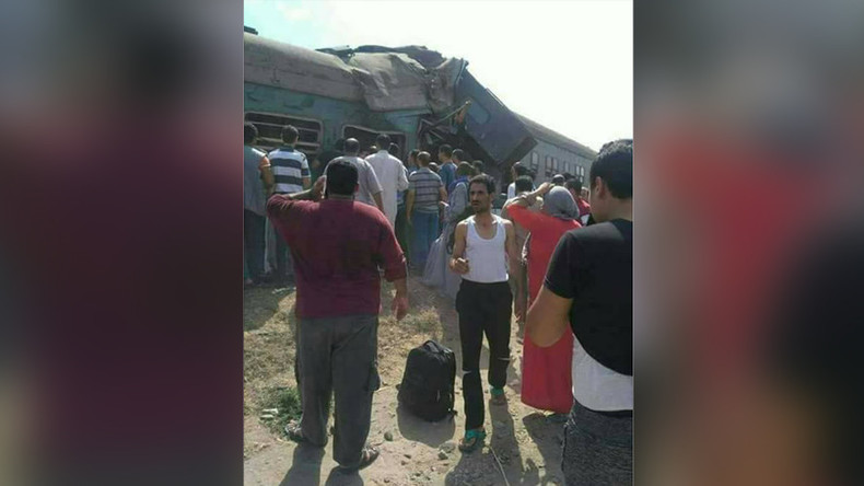49 killed, dozens injured as trains collide in Alexandria, Egypt  (VIDEO, PHOTOS)