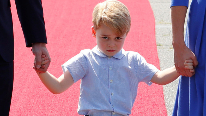 Prince George a 'gay icon' article branded 'sick & outrageous'