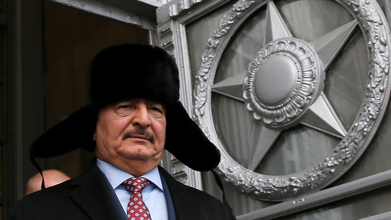 Libya's military strongman Haftar to meet Russian FM Lavrov in Moscow