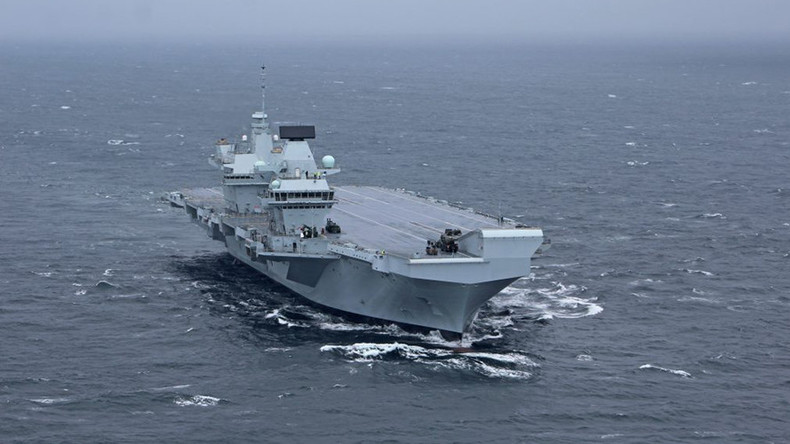Largest UK Navy Carrier Security Under Review After Amateur Lands Drone On Deck Undetected
