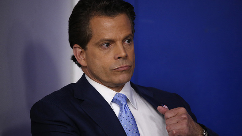 Scaramucci:  Establishment plan to 'eject' Trump from White House