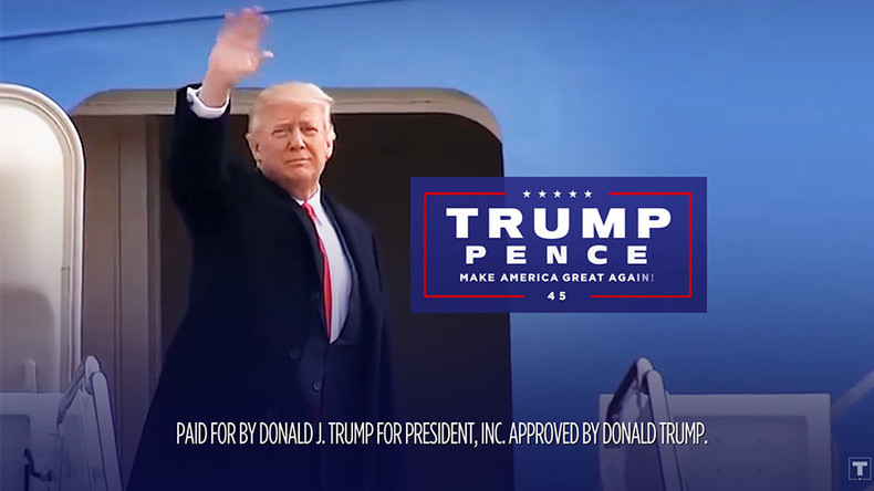 Trump TV ad touts achievements, aiming for 2020 election