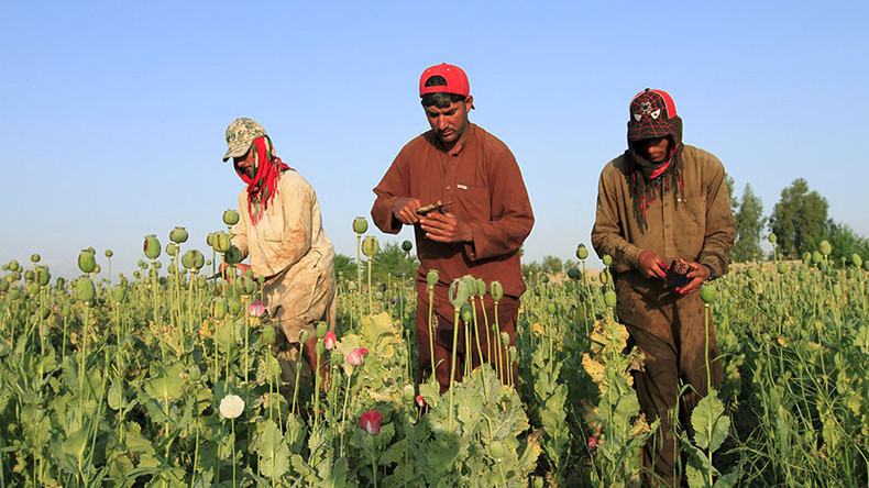 'Afghan heroin funded US political campaigns and black ops'