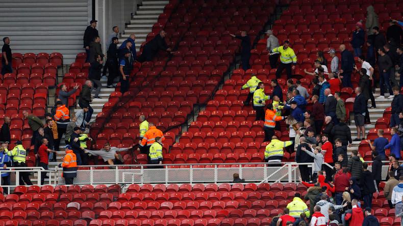 English club vows to ban hooligans guilty in shocking brawl that injured 10yo children