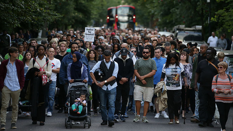 Grenfell fire, 2 months on: Inquiry begins as hundreds hold silent march for victims