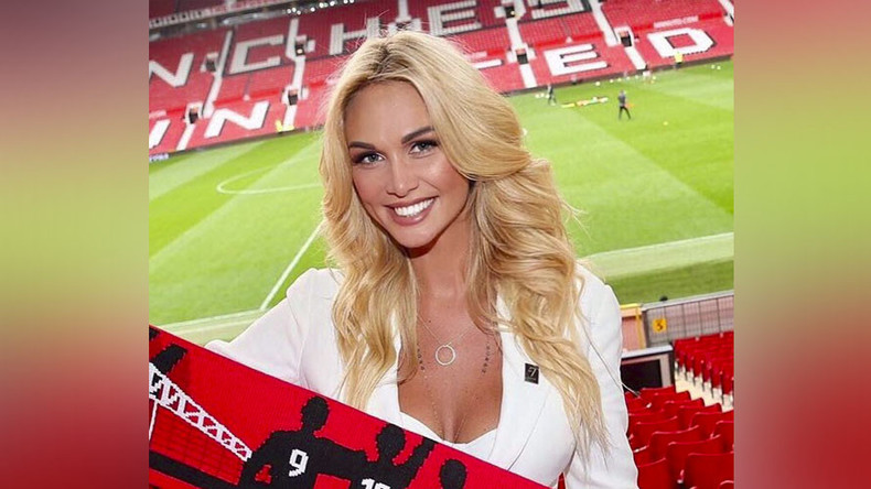 'Man United fans hugged me & begged me not to leave' – Russia 2018 ambassador Lopyreva (PHOTOS)