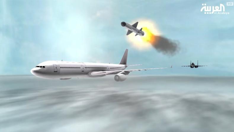Riyadh jet downs passenger plane in Saudi TV animation amid Qatar airspace row (VIDEO)
