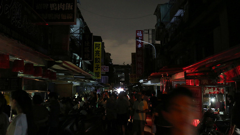 Massive blackout in Taiwan caused by human error (PHOTOS)