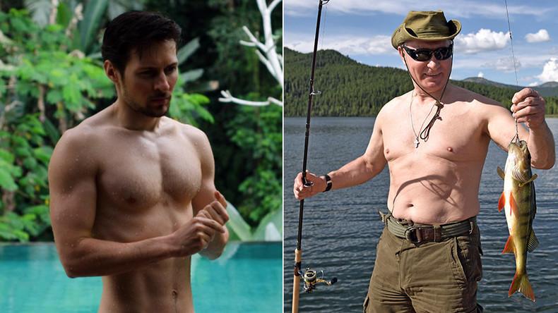 #PutinShirtlessChallenge: Topless torso flash mob goes viral