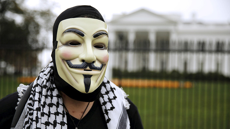 Anonymous & more tech companies knocking white supremacy groups offline