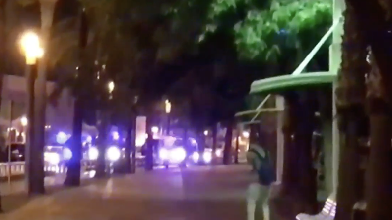 Video of intense police shootout with terrorist suspects in Cambrils