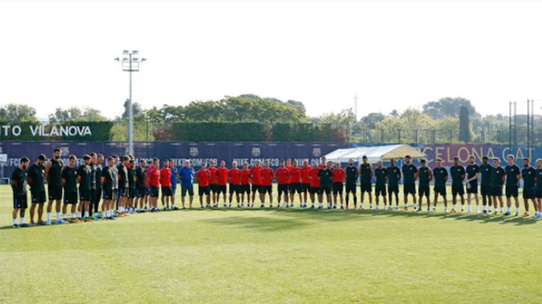 FC Barcelona lead tributes to dead & injured in terrorist attack