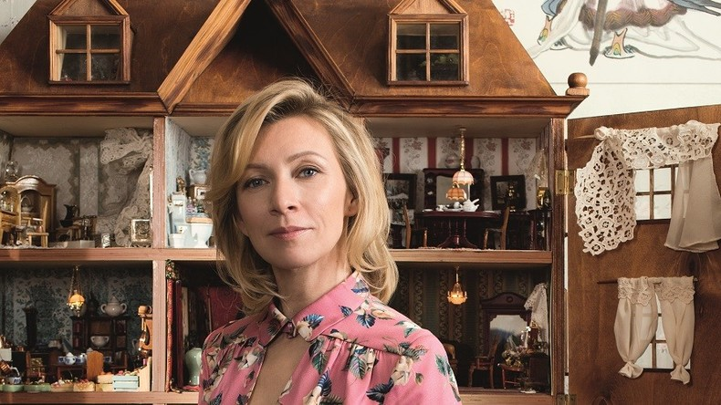 Dollhouse, smoking cigars & Russian designers: Zakharova gives rare glossy mag interview