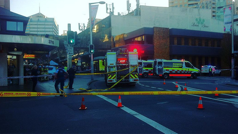 5 injured incl baby after car hits pedestrians in busy Sydney street 'not deliberately'