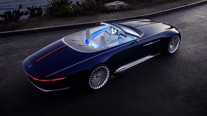 Vision Of The Future Mercedes Benz Teases Luxury Electric Car