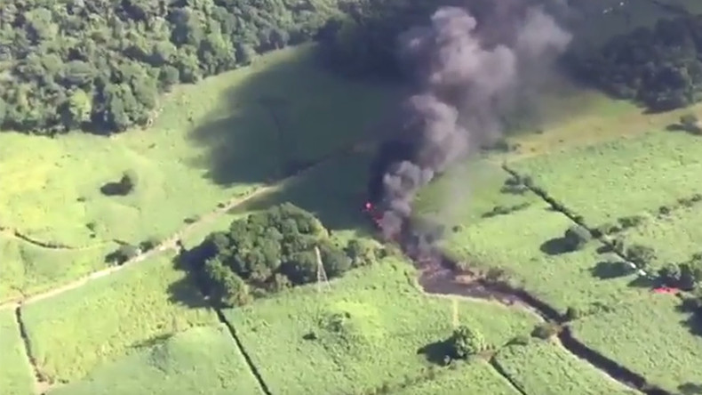 Mexico gas pipeline explosion leaves 1 dead, 5 wounded (VIDEO)