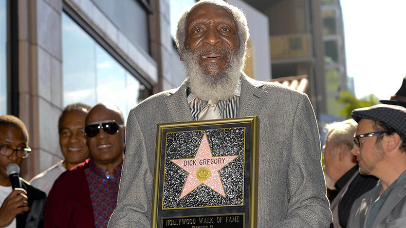 Civil-right activist and pioneering comedian Dick Gregory dies aged 84