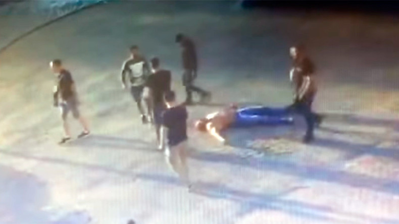 Russian powerlifting champ killed in brutal street brawl (DISTURBING VIDEO)