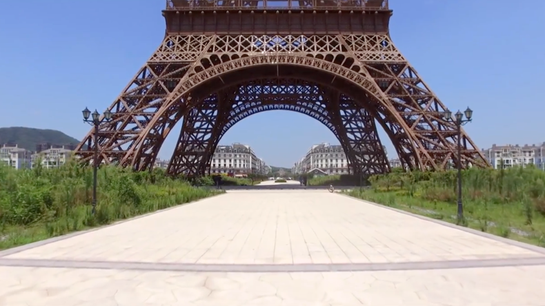 China's Paris has Seine better days