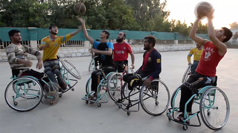 Afghan amputee basketball team aim for international competition despite conflict (VIDEO)