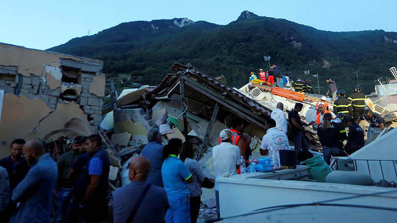 1 dead as 3.6 earthquake shatters buildings near Naples, Italy (PHOTOS, VIDEO)