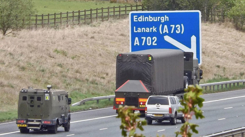 Scotland 'wholly unprepared' for nuclear weapons accident on its roads – report