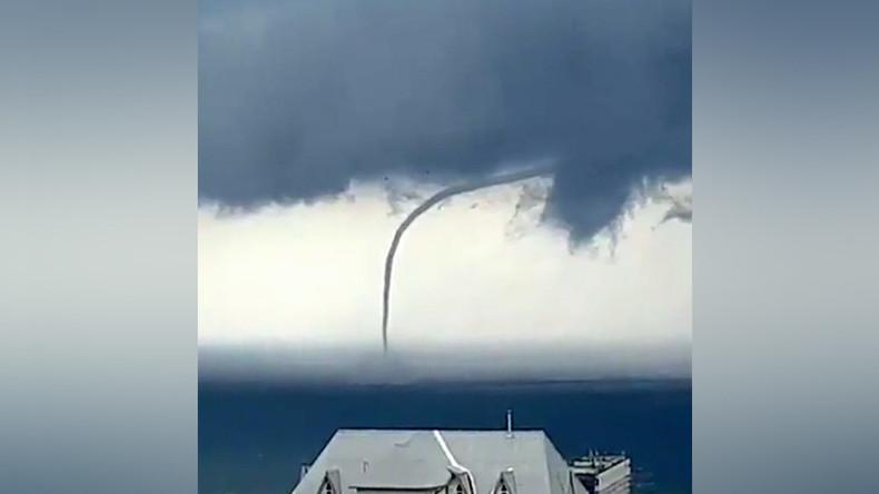 Curvy tornado plows through Black Sea near Sochi (PHOTOS, VIDEOS)