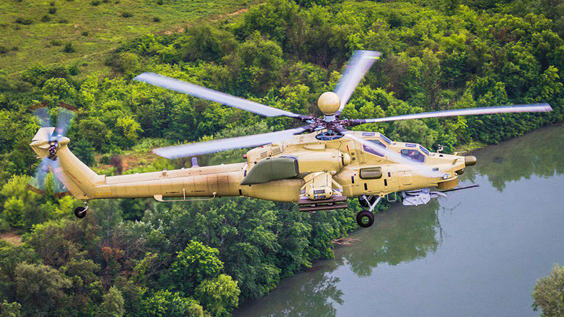 Russia produces first serial Mi-28UB combat training helicopter (PHOTOS)