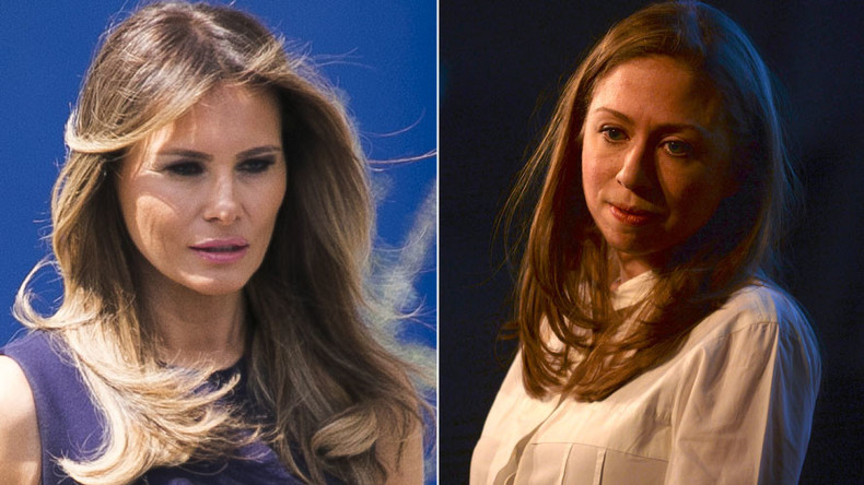'Thank you Chelsea': Melania Trump hails Clinton for defending Barron