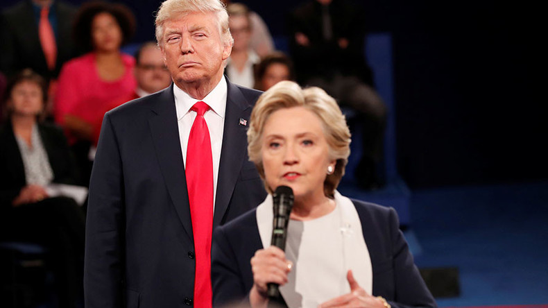 Clinton says Trump's debate pacing 'made her skin crawl'