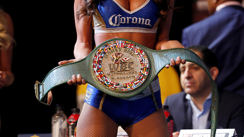 'Most unique piece in history of sports' – WBC produces 3,360-diamond 'Money Belt' for MayMac