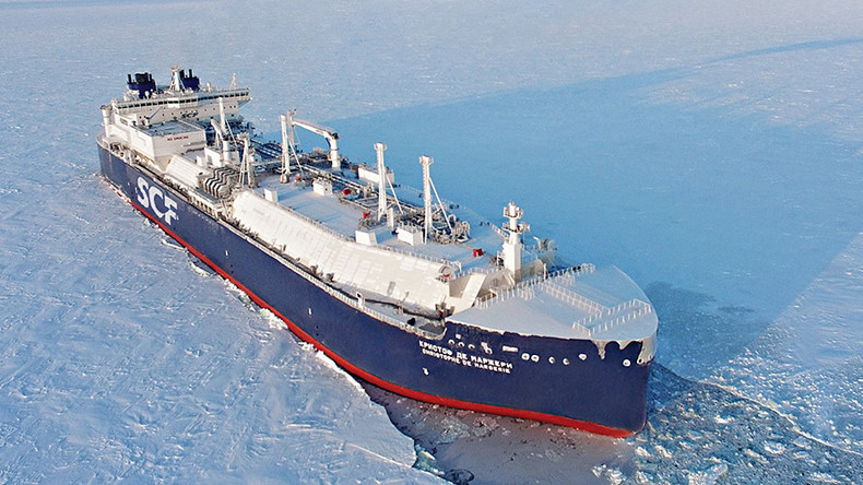 Russian LNG tanker navigates Arctic sea route in record 6.5 days