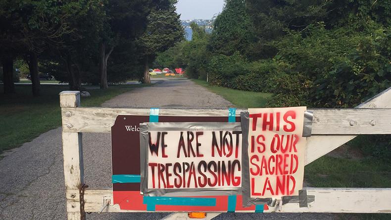 Next Standing Rock? Pokanoket Nation in bid to reclaim land in Rhode Island