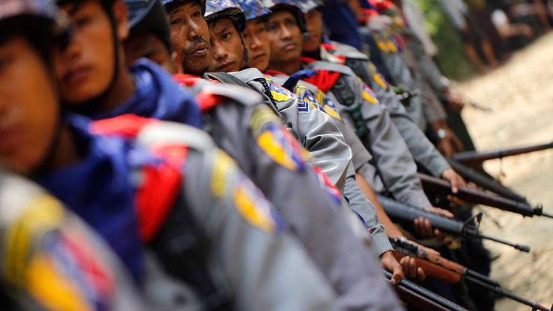 At least 5 police killed after Muslim insurgents storm 24 police posts & army base in Myanmar