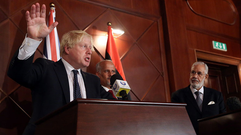 Boris Johnson's 'advice' for Libya – don't jump the gun on elections like Theresa May did